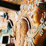 マルキリガラ石窟寺院 (Mulgirigala Raja Maha Vihara)~スリランカのRock Templeで祈祷していただきました。